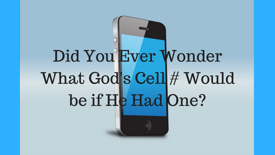 God's Cell Phone