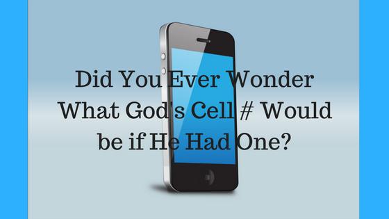 God's Cell Phone