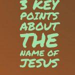 3 Key Points