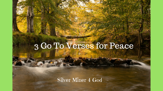 3 Scriptures on peace